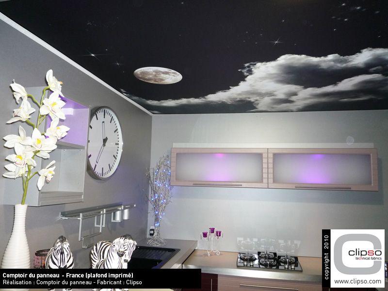 plafonds tendus clipso photos. Black Bedroom Furniture Sets. Home Design Ideas